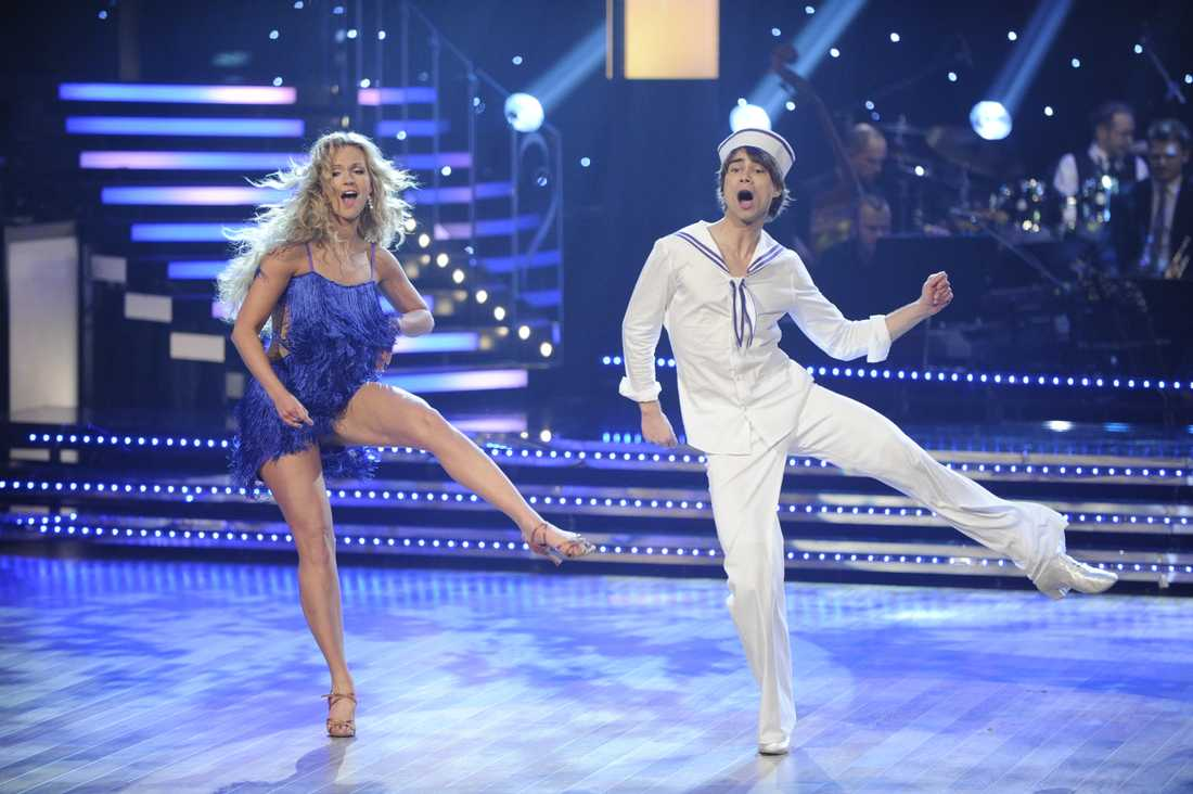 """Alexander Rybak med Malin Johansson i svenska """"Let's dance"""""""