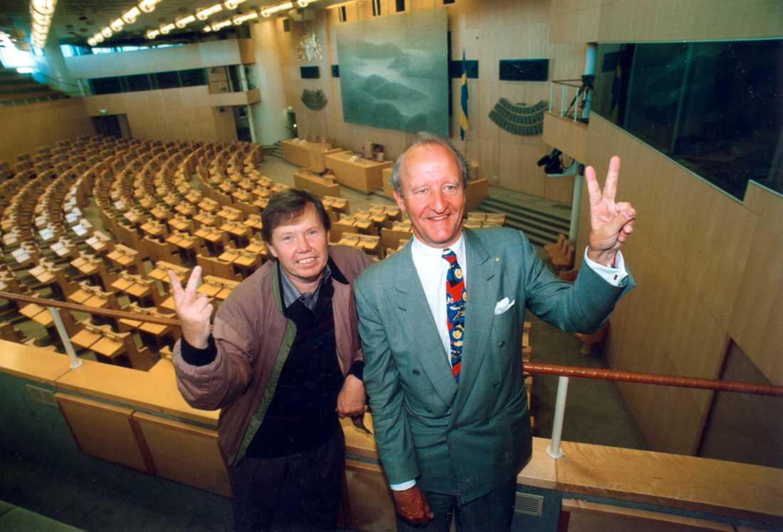 Ny demokrati in i riksdagen 1991