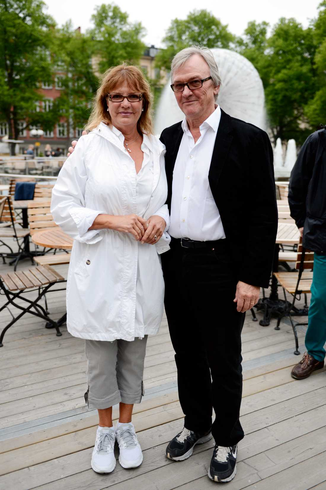 Anki Lidén och Klas Bergling.