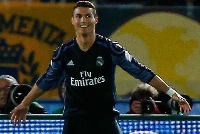Ronaldo firar efter andra målet