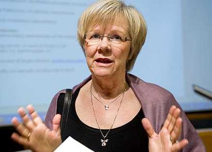 LO:s ordförande Wanja Lundby-Wedin.