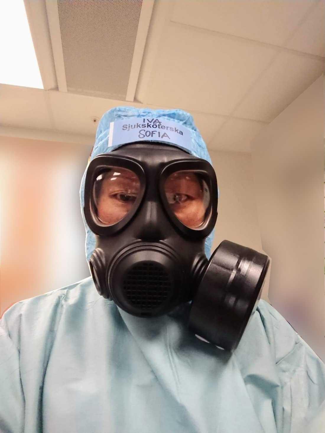Sjuksköterskan Sofia Cervin