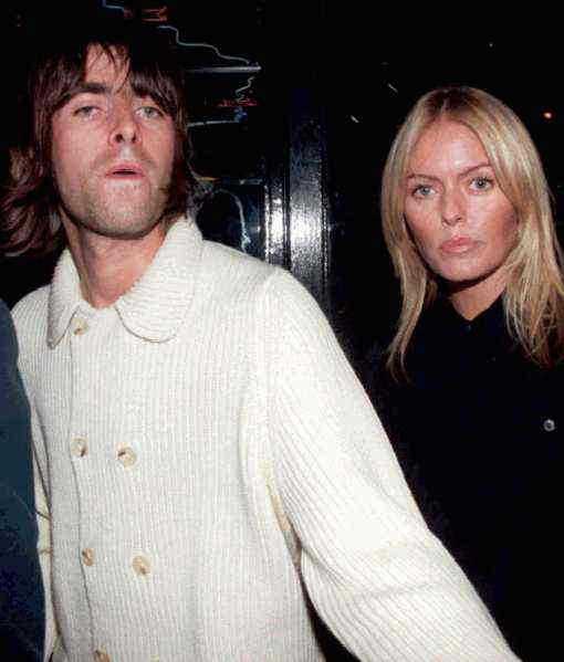 De föll offer för domino-effekten Liam Gallagher och Patsy Kensit bröt upp 2000…