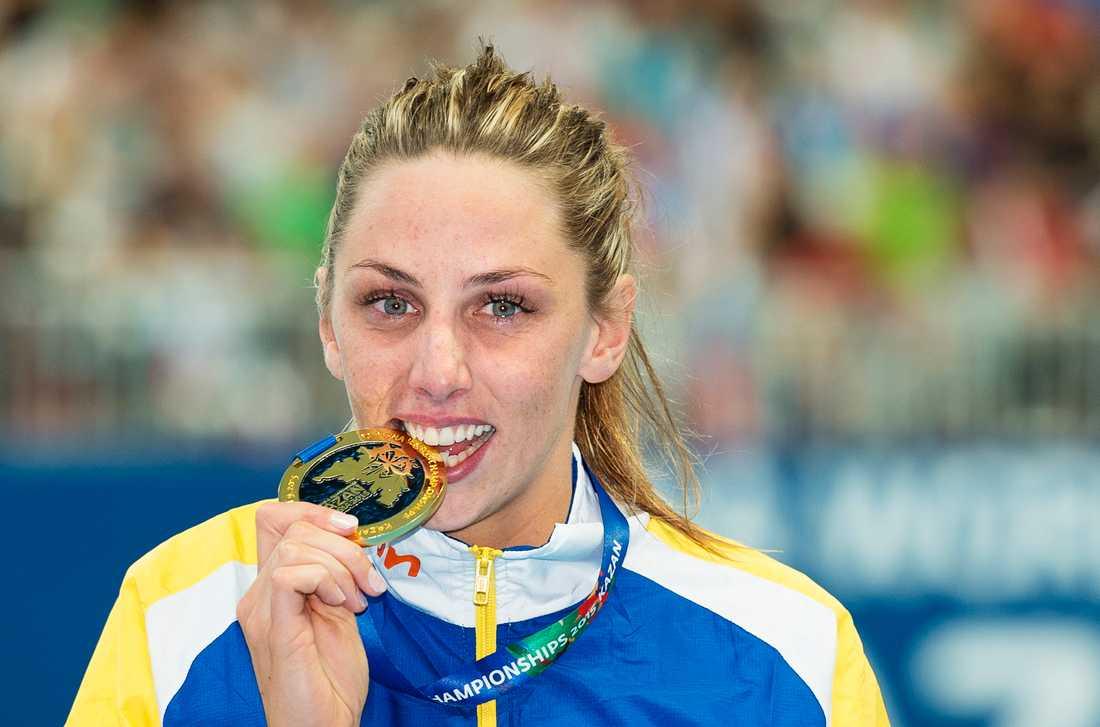 VM-guldmedaljören från VM i Kazan 2015.