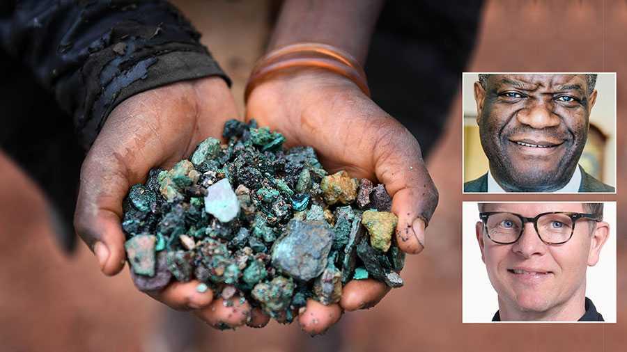 Kongo-Kinshasa är ett nyckelland i den gröna omställningen. Tillverkare av elbilar och elcyklar är beroende av kobolt härifrån. Men ett gott miljösamvete hos oss, kostar livet för gruvarbetare i Afrika, skriver Denis Mukwege och Niclas Lindgren.