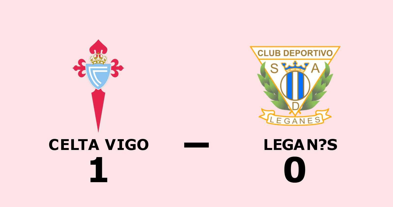 Iago Aspas matchhjälte för Celta Vigo hemma mot Leganés