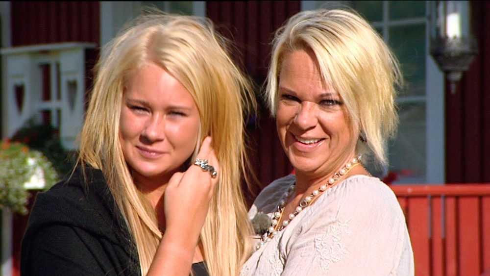 Josefin Rydén och mamma Johanna.