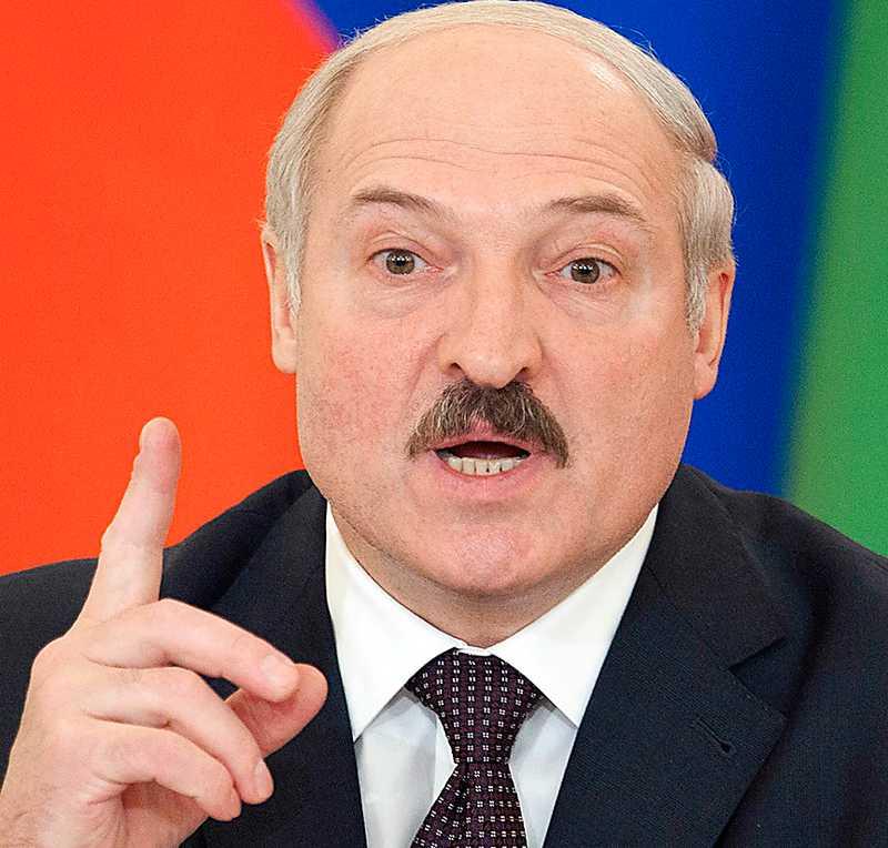 Virysslands president Lukasjenko.