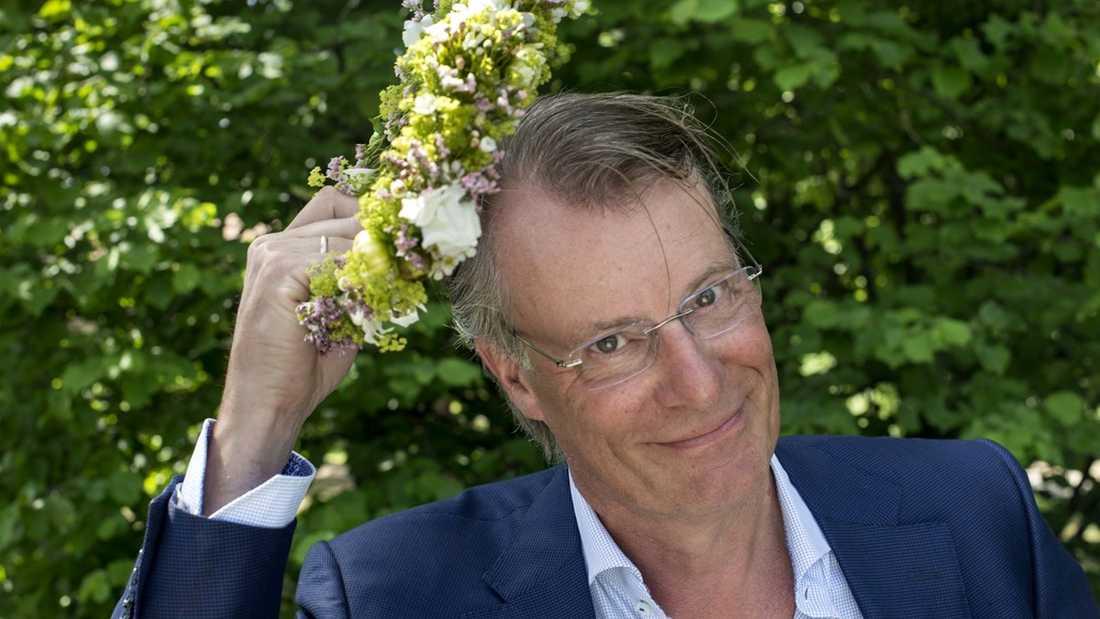 Den norske affärsmannen Johan H Andresen erkänner glatt att han fick med sig ett helt bestick-set.