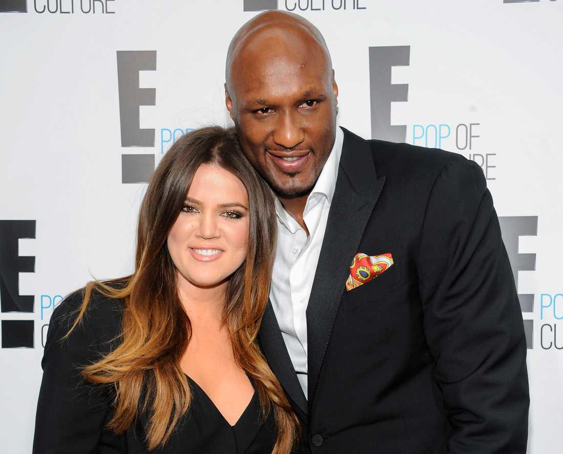 Khloé Kardashian var tidigare gift med basketspelaren Lamar Odom.