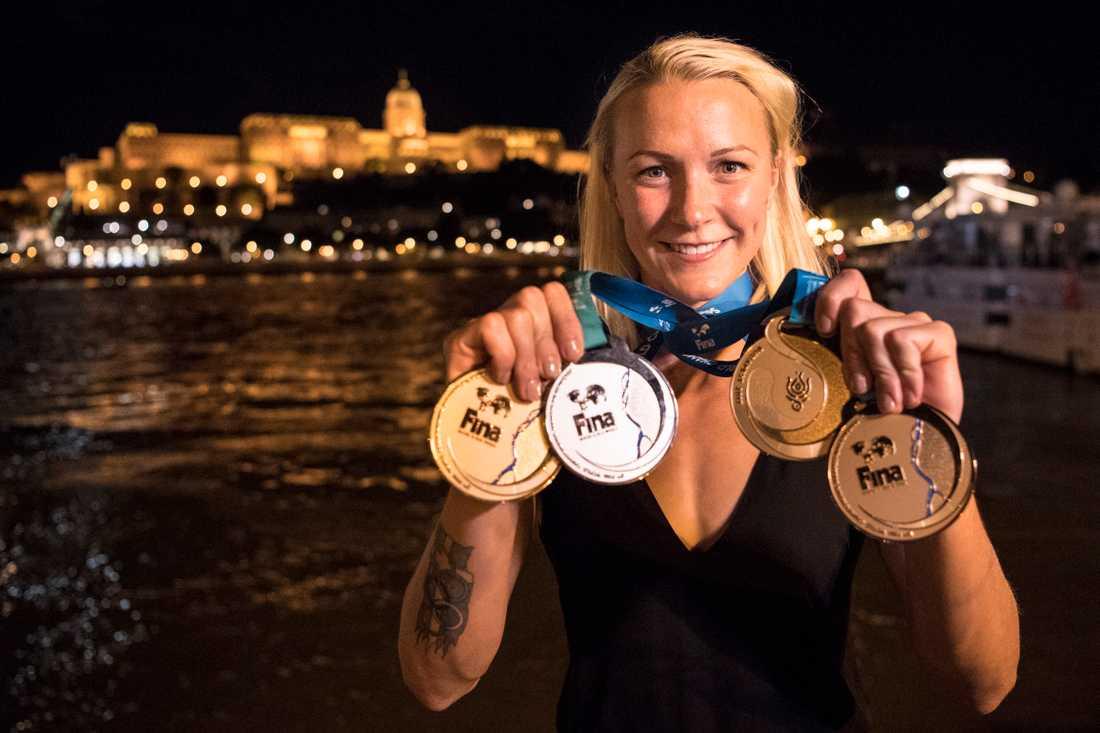 Sarah Sjöström fortsätter att ta hem utmärkelser.