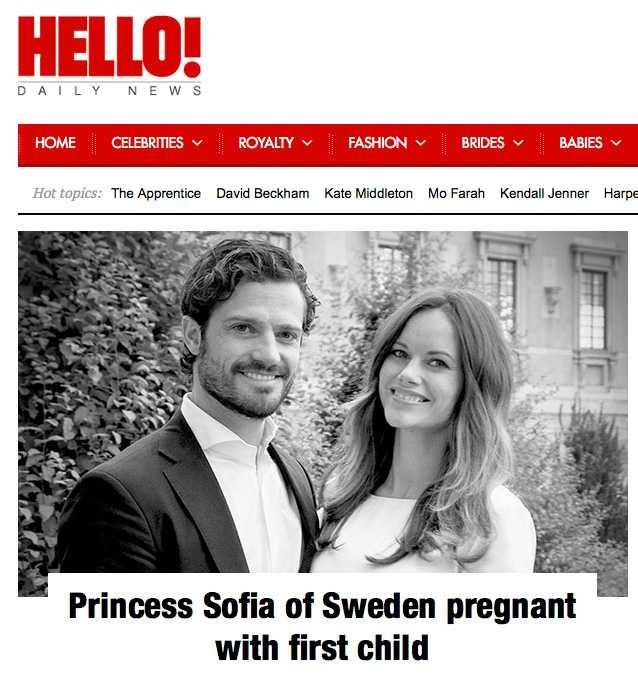 Hello Magazine, Storbritannien