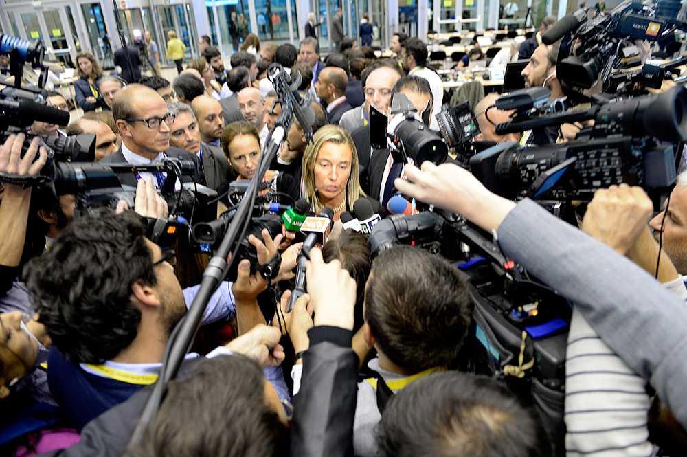 vänsterdemokraten Federica Mogherini.