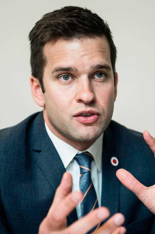 Gabriel Wikström (S), sjukvårdsminister. Betyg: 2,4 (Oförändrat)