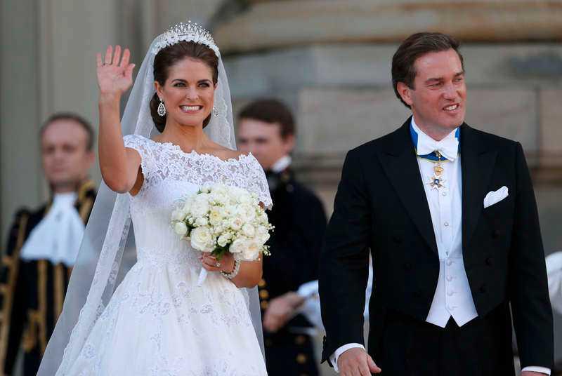 11 MILJONER Prinsessan Madeleine och Chris betalade större delen, 7,5 miljoner kronor, privat.