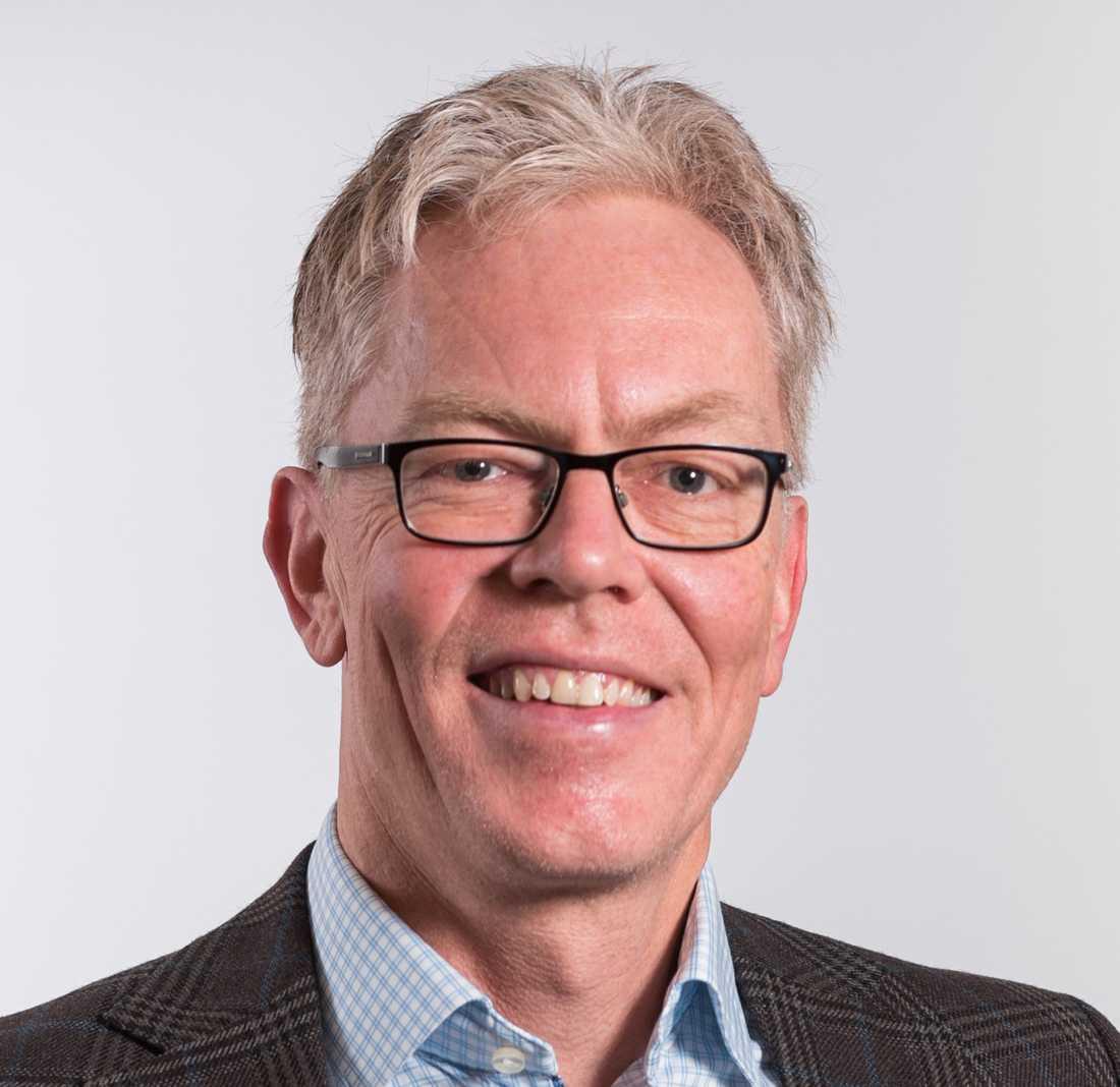 Henrik Arnell, överläkare på Astrid Lindgrens barnsjukhus.