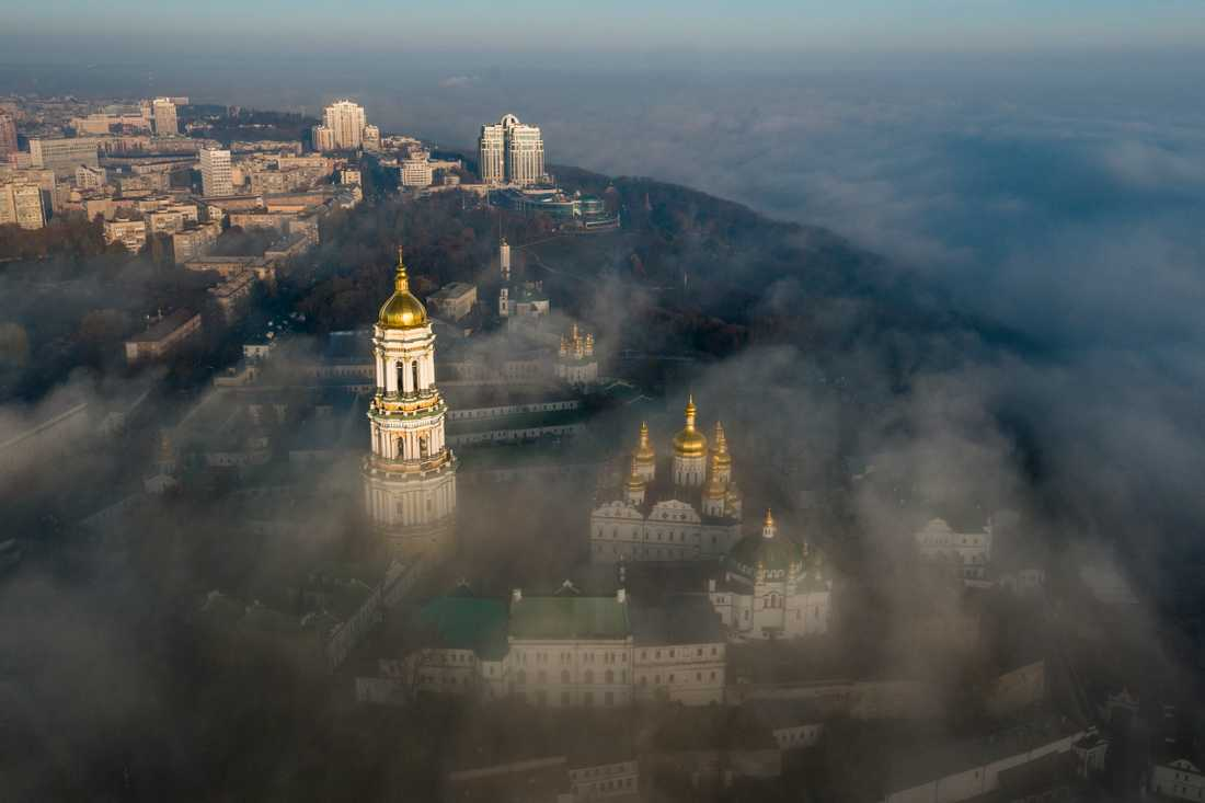 Petjerskaklostret, även kallat Grottklostret, grundades på 1000-talet. Arkivbild.