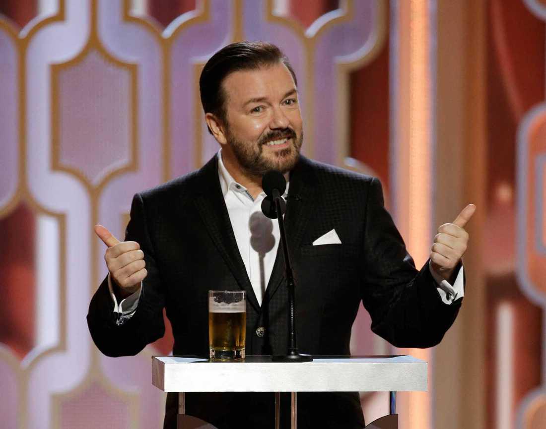 Ricky Gervais gillar skandinaviska dramaserier.
