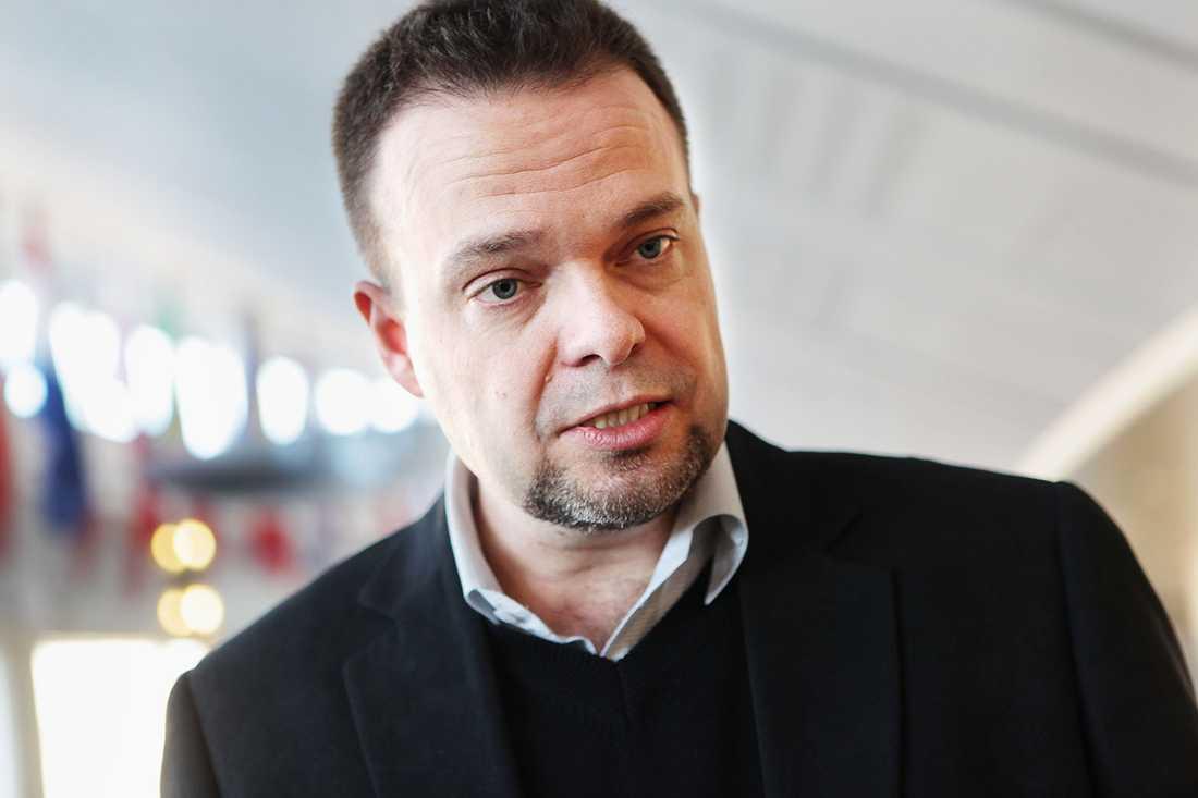 Sven Otto Littorin (M) var arbetsmarknadsminister 2006–2010.