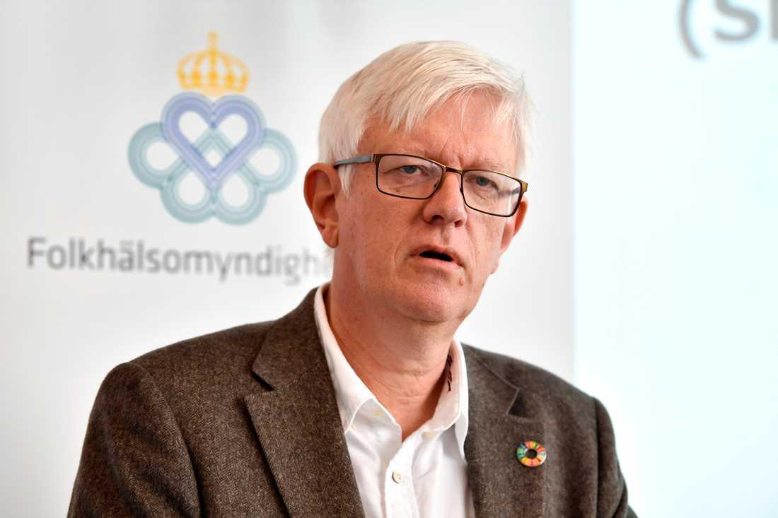 """""""De flyktingar som kommer till Sverige är som regel ganska friska och sedan blir hälsan påtagligt sämre"""", säger Johan Carlson, generaldirektör på Folkhälsomyndigheten. Arkivbild."""