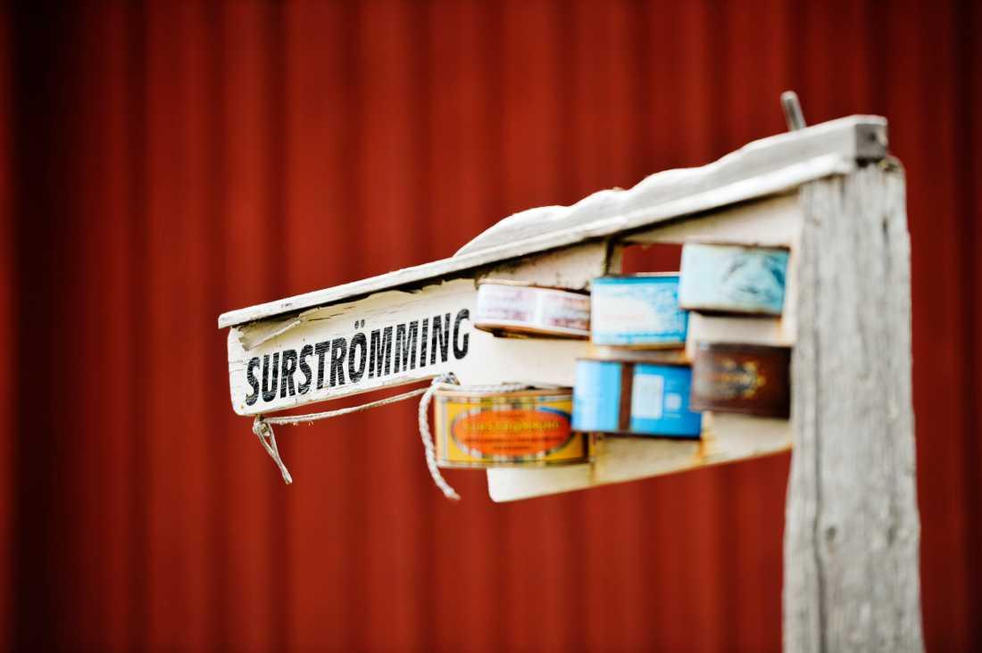 Traditionellt sett så firas surströmmingspremiären tredje torsdagen i augusti varje år. Arkivbild.