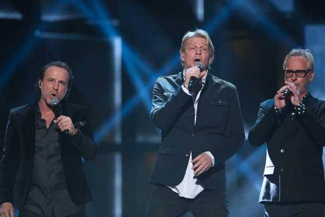 Patrik Isaksson, Tommy Nilsson och Uno Svenningsson.