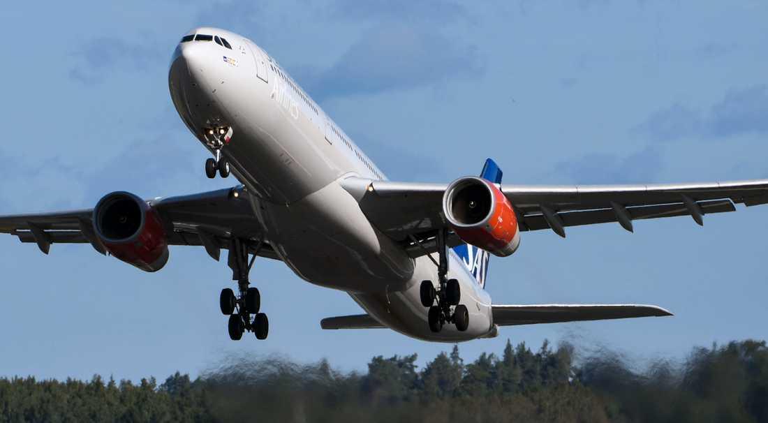 SAS Airbus 330-300E.