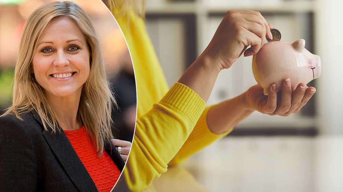 Sparekonomen Christina Söderberg ger sina tips för ett lyckat fondsparande.