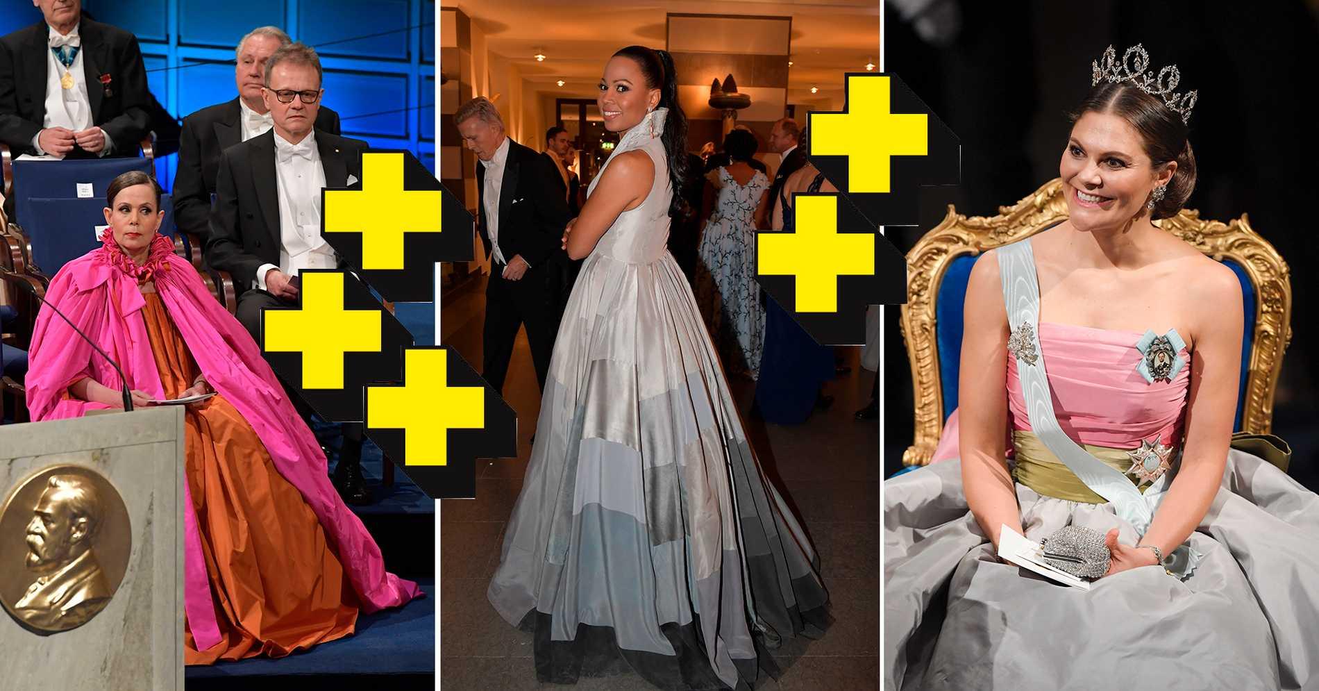 61b255648eb4 Nobelklänningar 2018 – det betyget får klänningarna   Aftonbladet