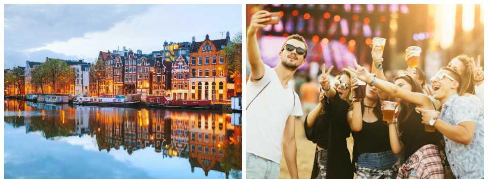 Amsterdam och München är höstens stora vinnare när det gäller weekendresor.