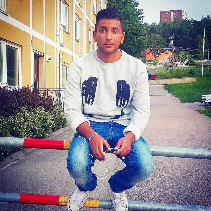 Alaa Farraj, 21, var en av de tre som hittades mördade i ett villaområde i Uddevalla.