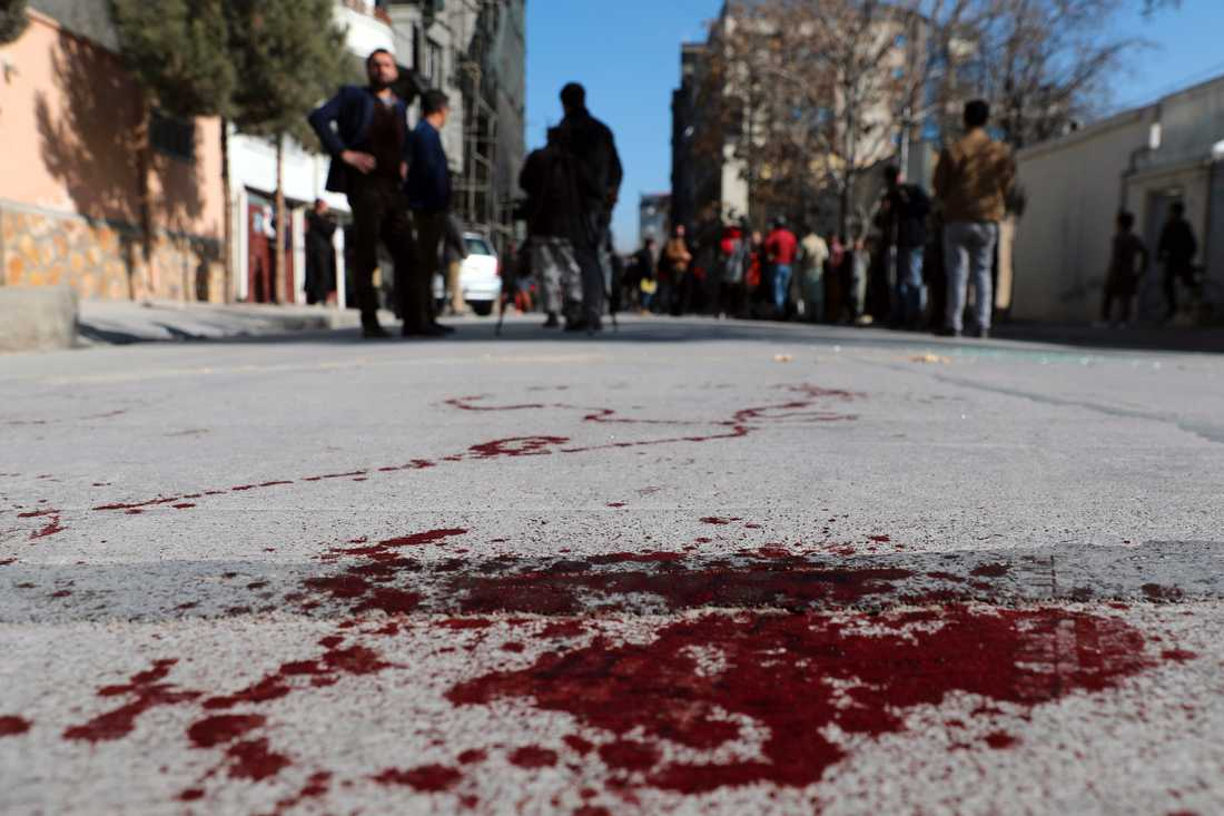 Det upptrappade våldet fortsätter i Afghanistan.