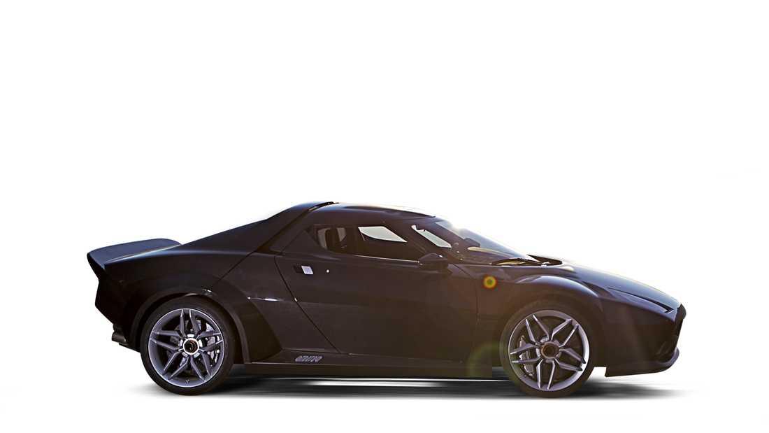 New Stratos Motor/Växellåda: 4,3-liters V8, 540 hk, 520 Nm, 6-växlad sekventiell F1-låda Prestanda:  0–100 på 3,3 sek, 306 km/h Vikt: 1247 kg.Pris: 45 miljoner kr.