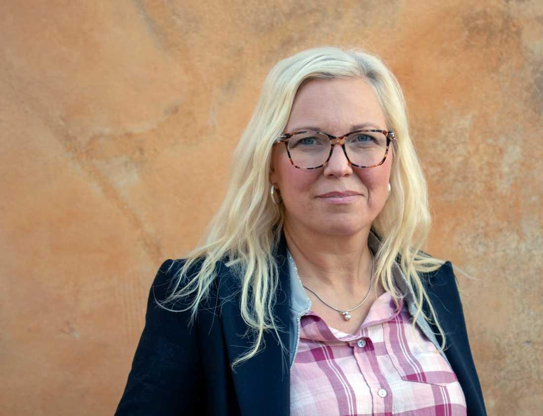 Veronica Magnusson Hallberg, ordförande i Svenska Downföreningen.