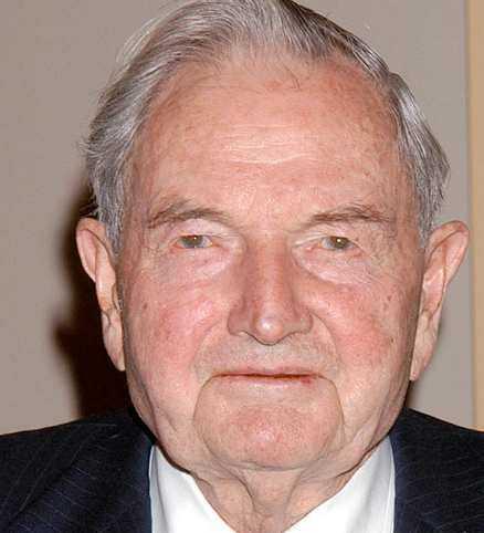 David Rockefeller.