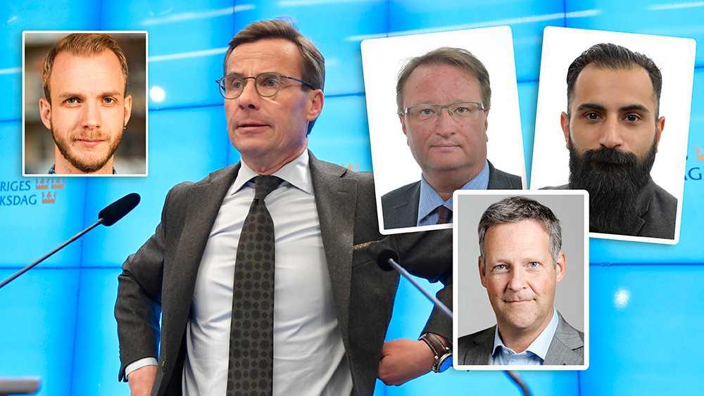 Vad som är mer problematiskt är att Sveriges näst största parti, som alltså strävar efter att vara statsbärande, verkar agera nyttiga idioter åt de som vill vårt land ont, skriver debattören.