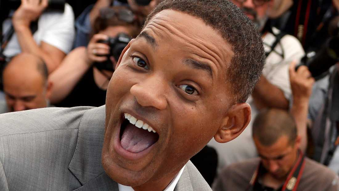 Will Smith i Cannes.