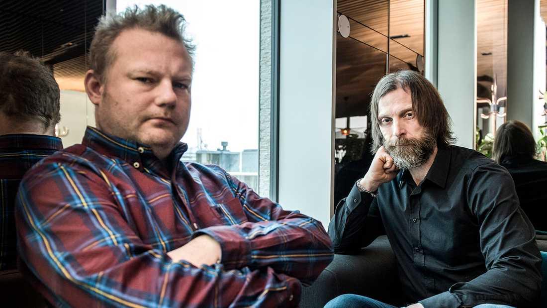 Morgan Karlsson och Ola-Conny Wallgren.