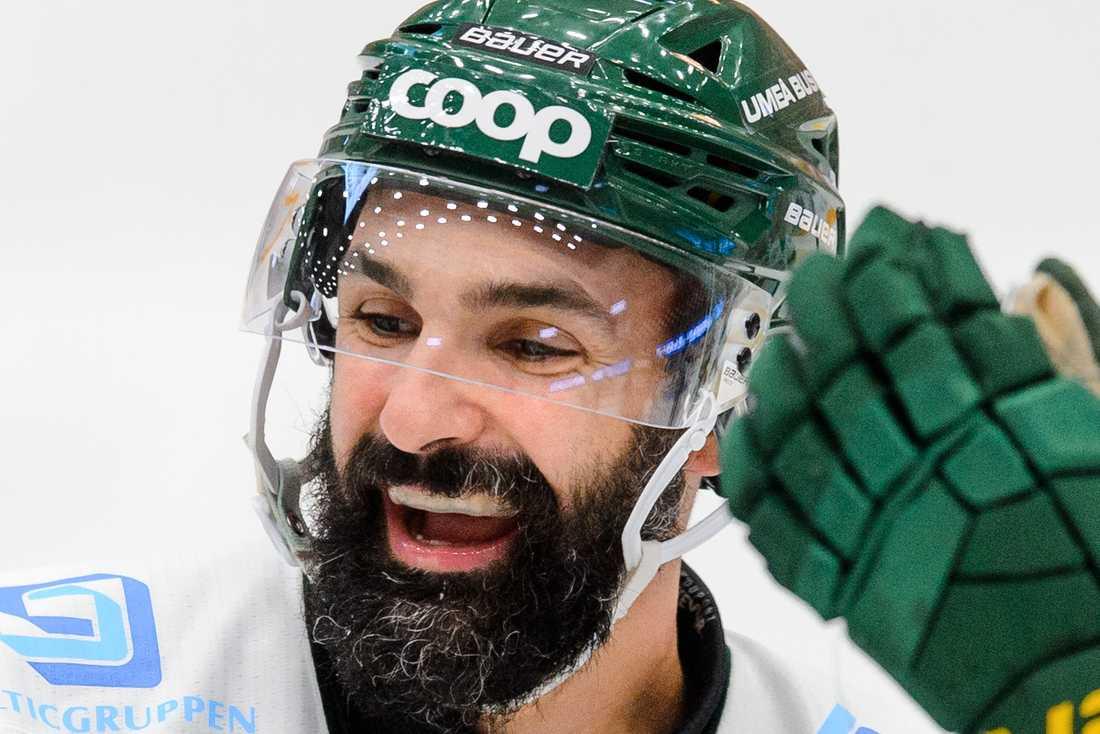 Daniel Rahimi en av målskyttarna i Björklövens kross.