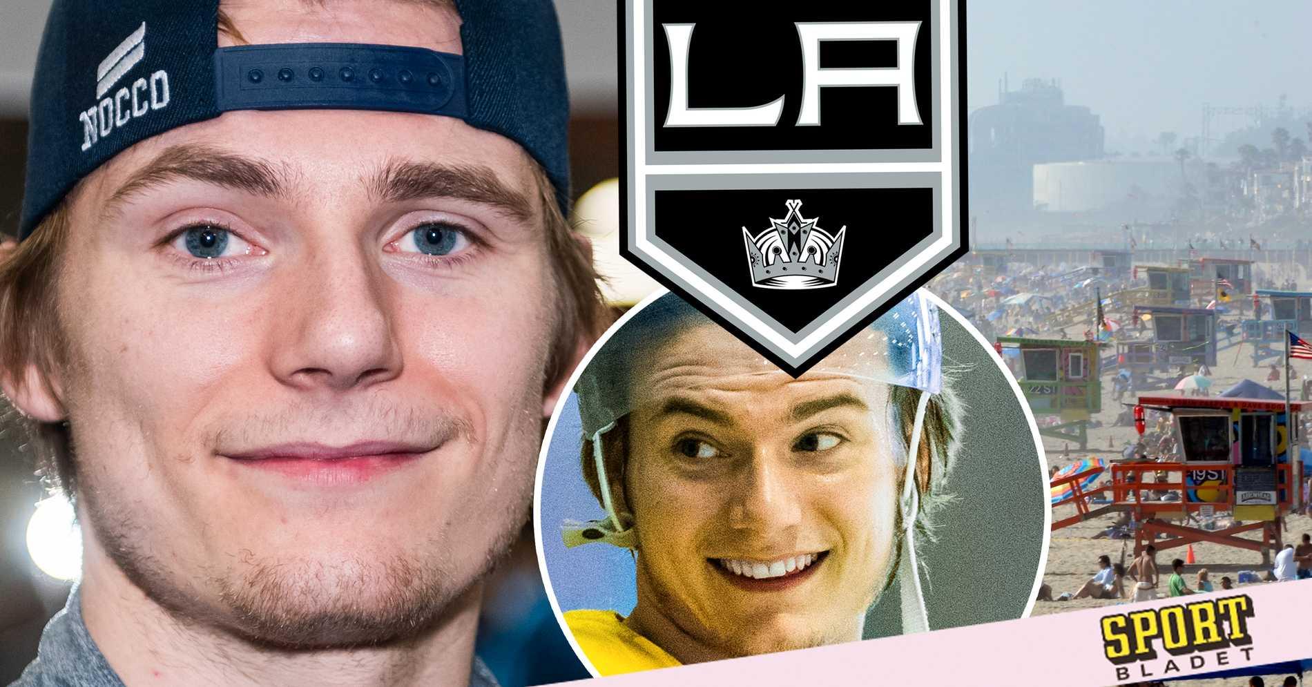 """Lias Andersson: """"Otroligt glad över att vara i Los Angeles"""""""