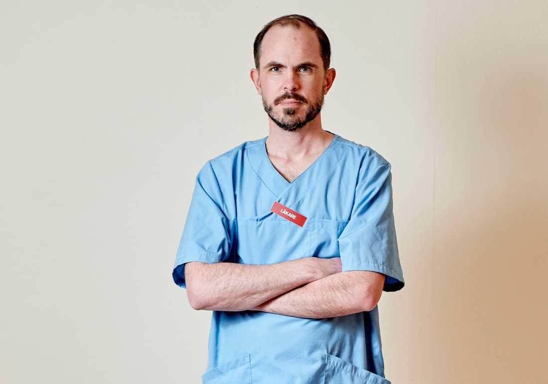 "Christian Carrwik, 43, är Aftonbladets nya doktor i ""Fråga doktorn""."