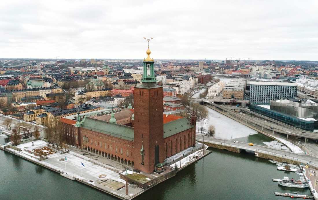 Stadshuset i Stockholm.