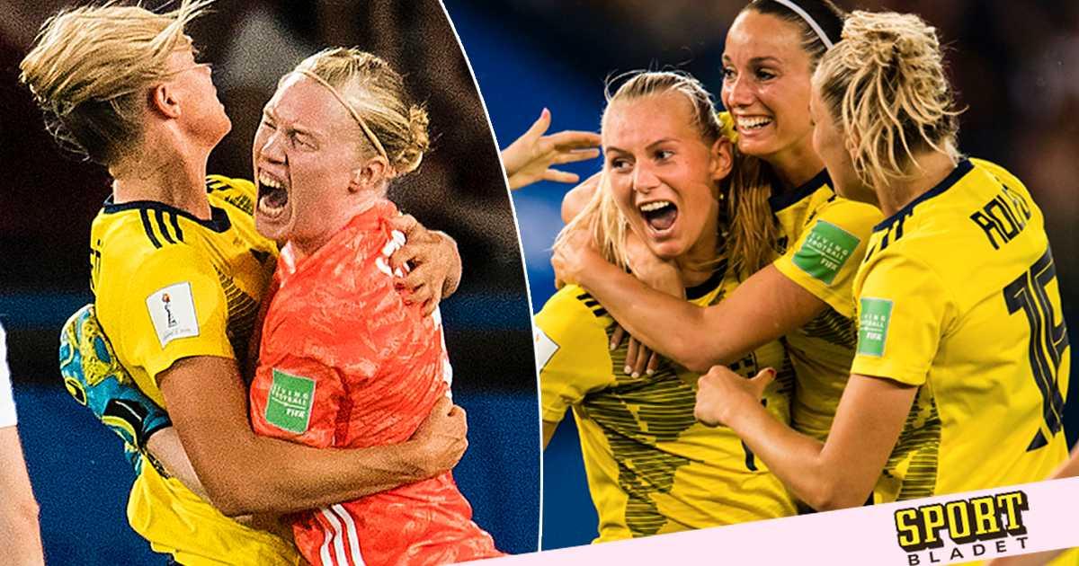 Sverige klart för kvartsfinal – efter Lindahls jätteräddning