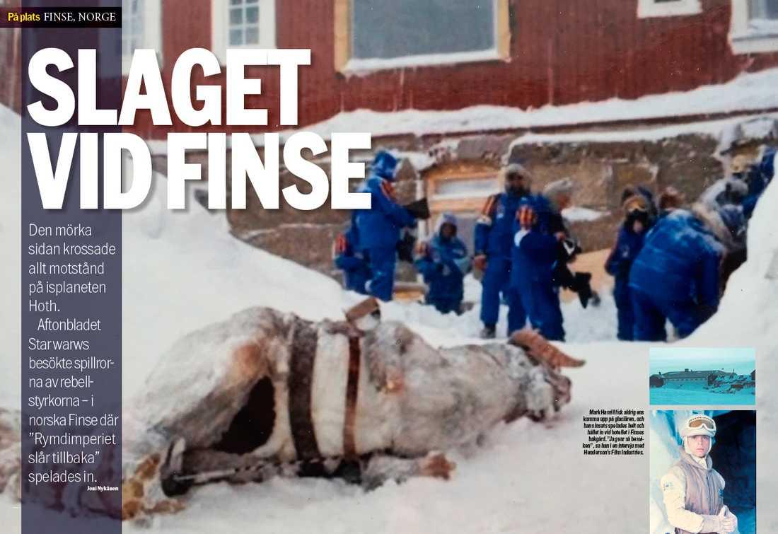"""Vi har besökt norska Finse där delar av """"Rymdimperiet slår tillbaka"""" spelades in."""
