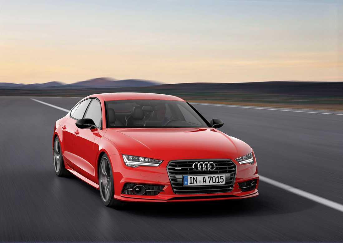 Motorn används bland annat i Audi A7