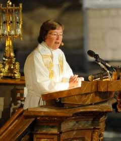 Biskop Eva Brunne.