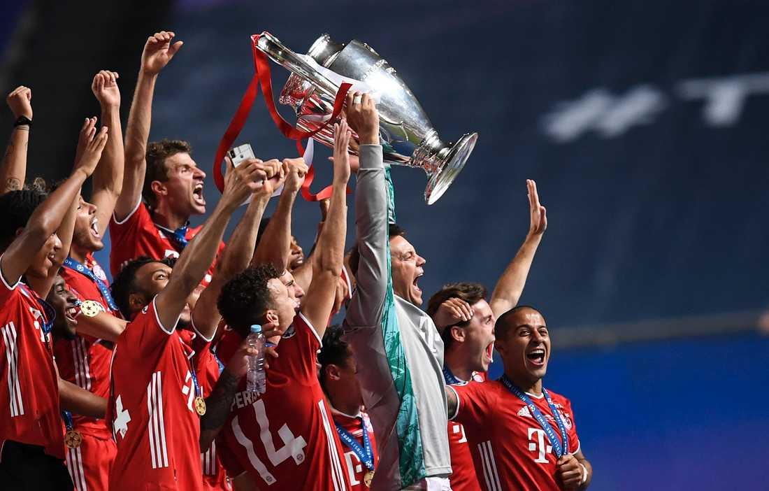Bayern München tog hem Champions League förra säsongen. På tisdagskvällen inleds den här säsongens gruppspel. Arkivbild