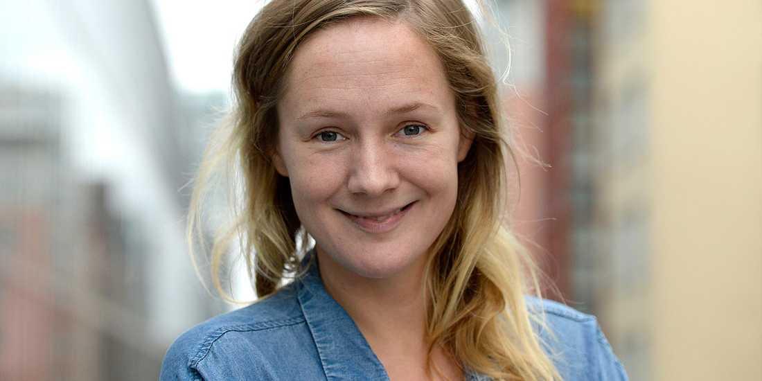 Lina Thomsgård ska nu bli mamma.