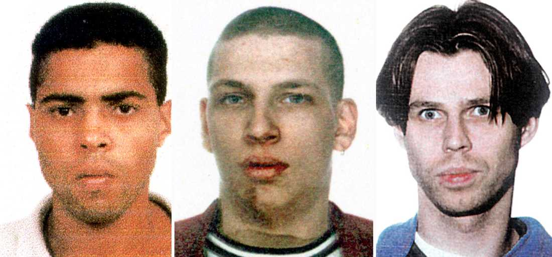 DÖMDES FÖR MORDEN Jackie Arklöv, Tony Olsson och Andreas Axelsson dömdes för morden i Malexander.