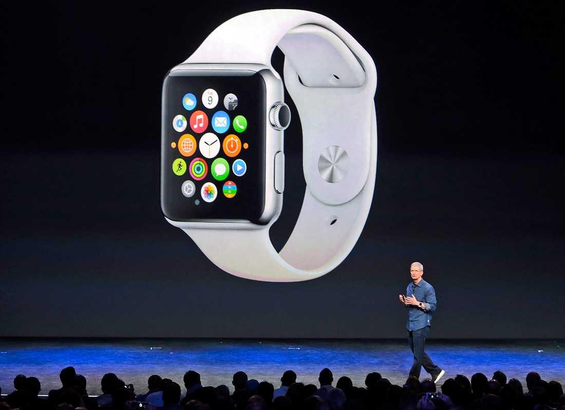 Apple Watch presenterades av företagets vd Tim Cook den 9 september 2014.